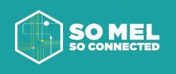 logo so mel so connected